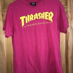 Pink Women's THRASHER Shirt